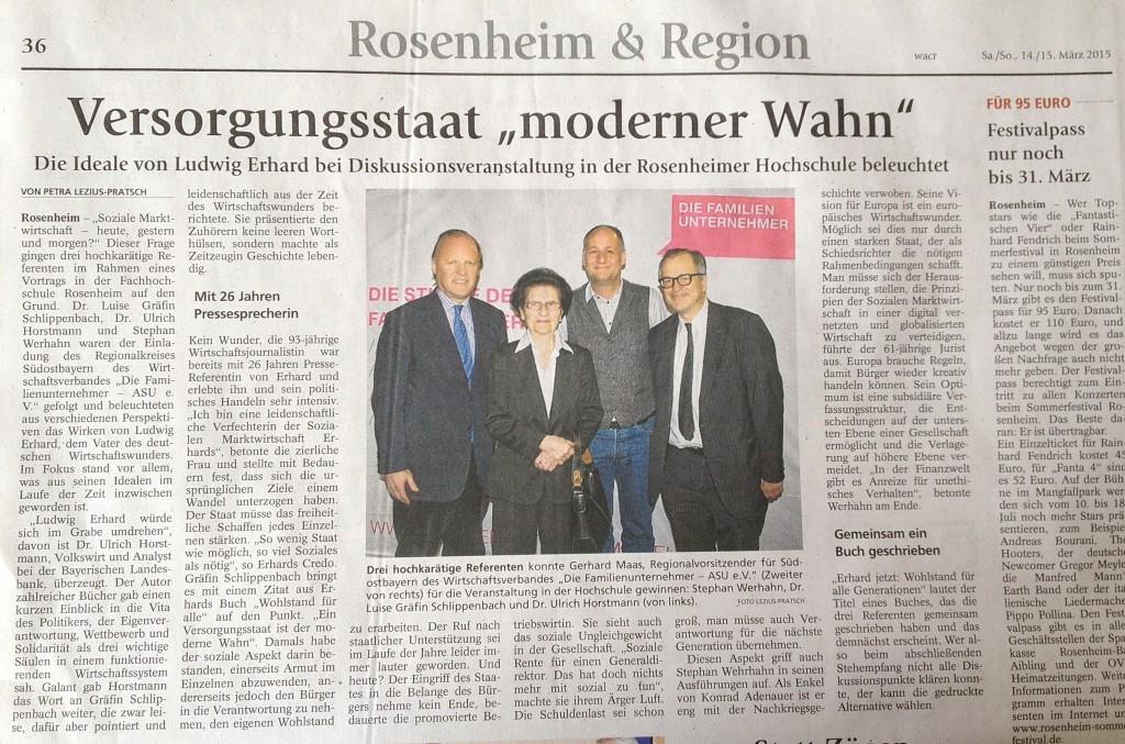 Rosenheim & Region 15.03.2015